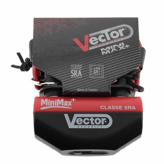 VECTOR MiniMax+ disc lock