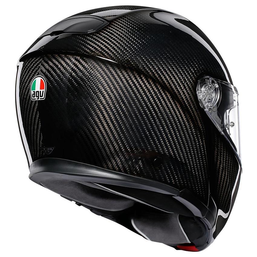 Agv Sportmodular Carbon Gloss Motorcycle Helmet Biker Outfit
