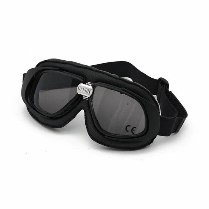 Bandit CLASSIC GOGGLES BLACK LEATHER