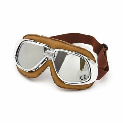 Bandit CLASSIC GOGGLES BROWN LEATHER