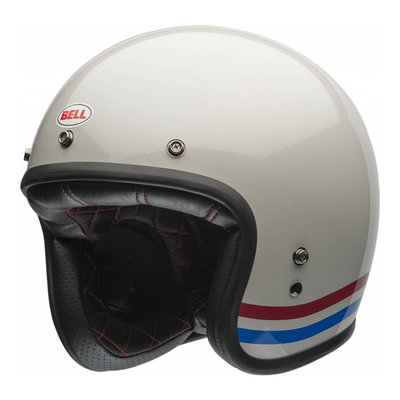 Bell CUSTOM 500 STRIPES WHITE