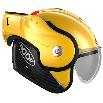 Roof BOXXER CARBON YELLOW
