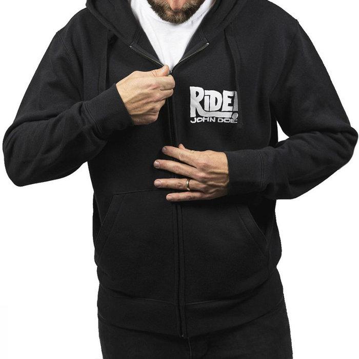 John Doe Zip Hoodie Ride