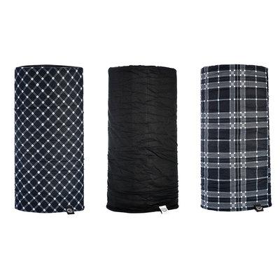 Oxford Comfy set Black-White-Tartan