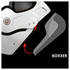 Roof RO9 BOXXER CARBON CHEEK PADS