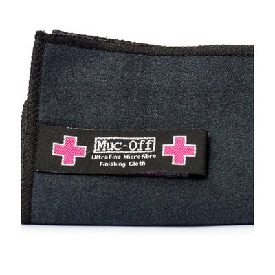 Muc-Off Helmet & Visor Microfibre Polishing Cloth