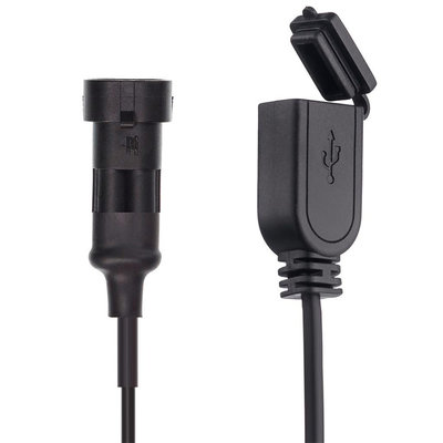 Ultimate Addons 2 PIN WATERPROOF CHARGER CABLE FOR HARDWIRE - DIN HELLA