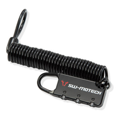 SW-Motech CABLE LOCK FOR MOTORCYCLE BAGS