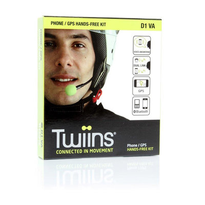 Twiins D-1 Bluetooth headsets kit