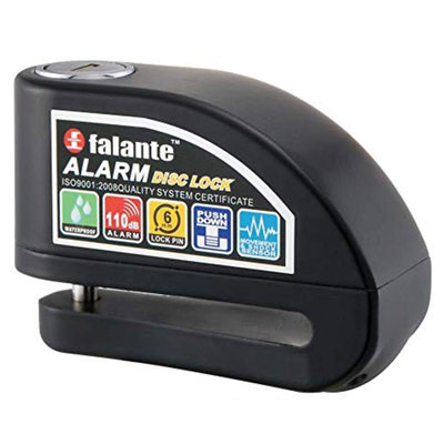 Claw Disc lock with alarm