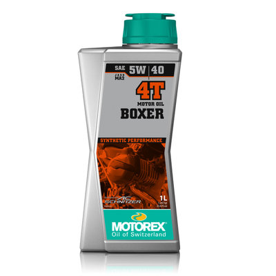 Motorex Boxer 4T 5W/40 engine oil