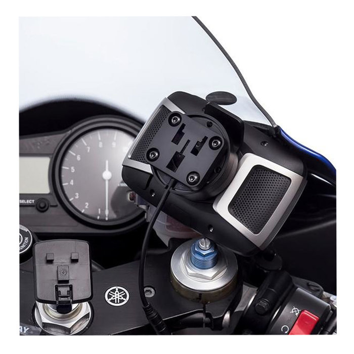 Ultimate Addons 3 prong adapterplaat TomTom Rider