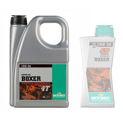 Motorex Boxer 4T 15W/50 motorolie