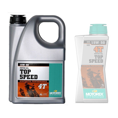 Motorex Top speed 15W/50 engine oil