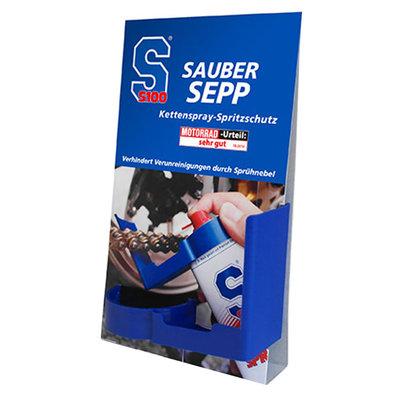 S100 Splash protector chain lube