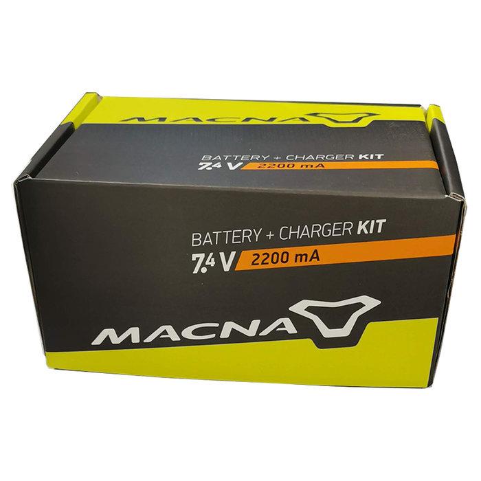 Macna BATTERY + CHARGER 7,4V 2,2AH GLOVES