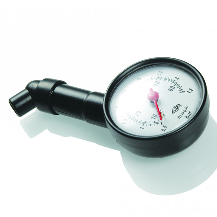 Booster Tire pressure gauge analogue