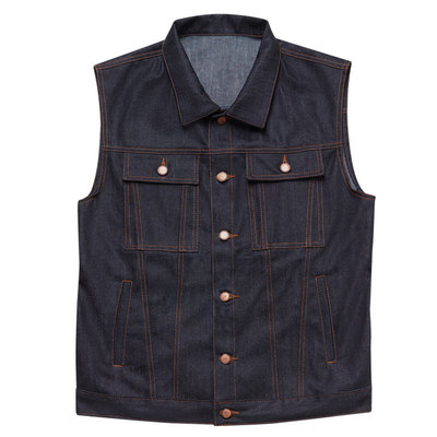 John Doe Raw Denim Vest