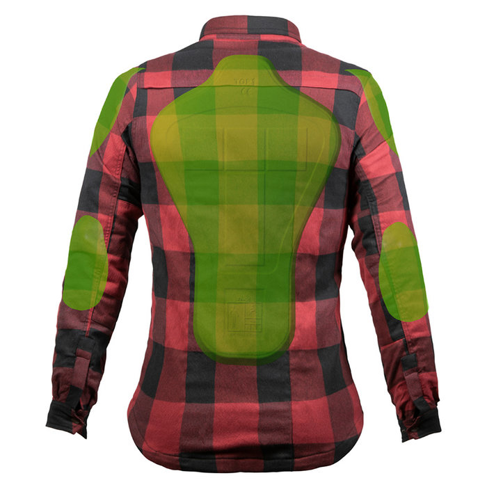 John Doe Motoshirt lumberjack Women