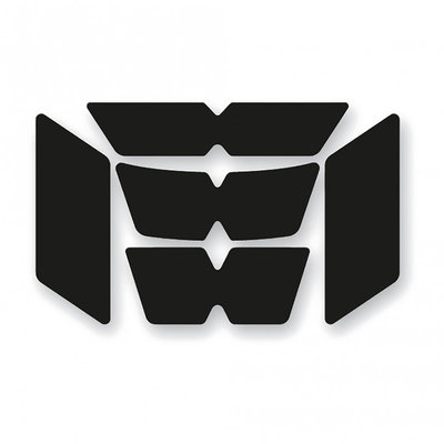 Booster Reflection set helmet