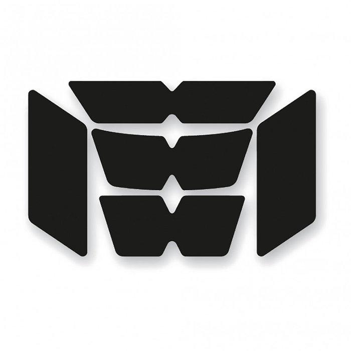 Booster Reflectieset helm