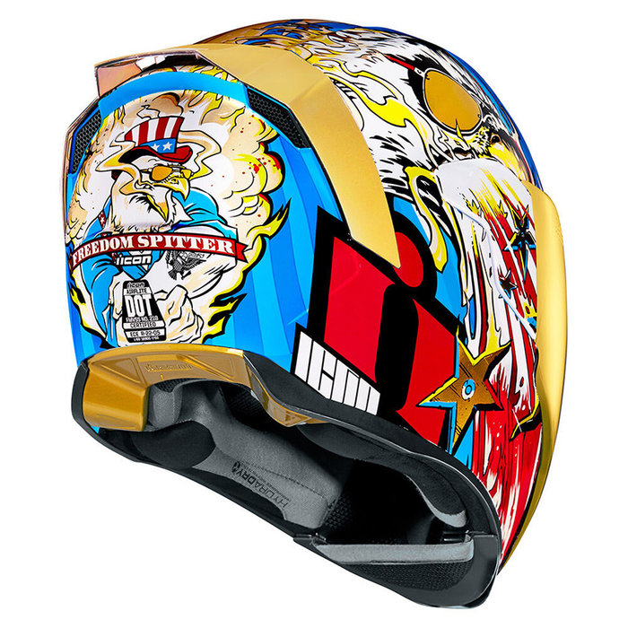 Icon Airflite Freedom Spitter Gold