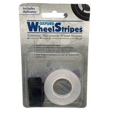 Oxford Wheel stripes white