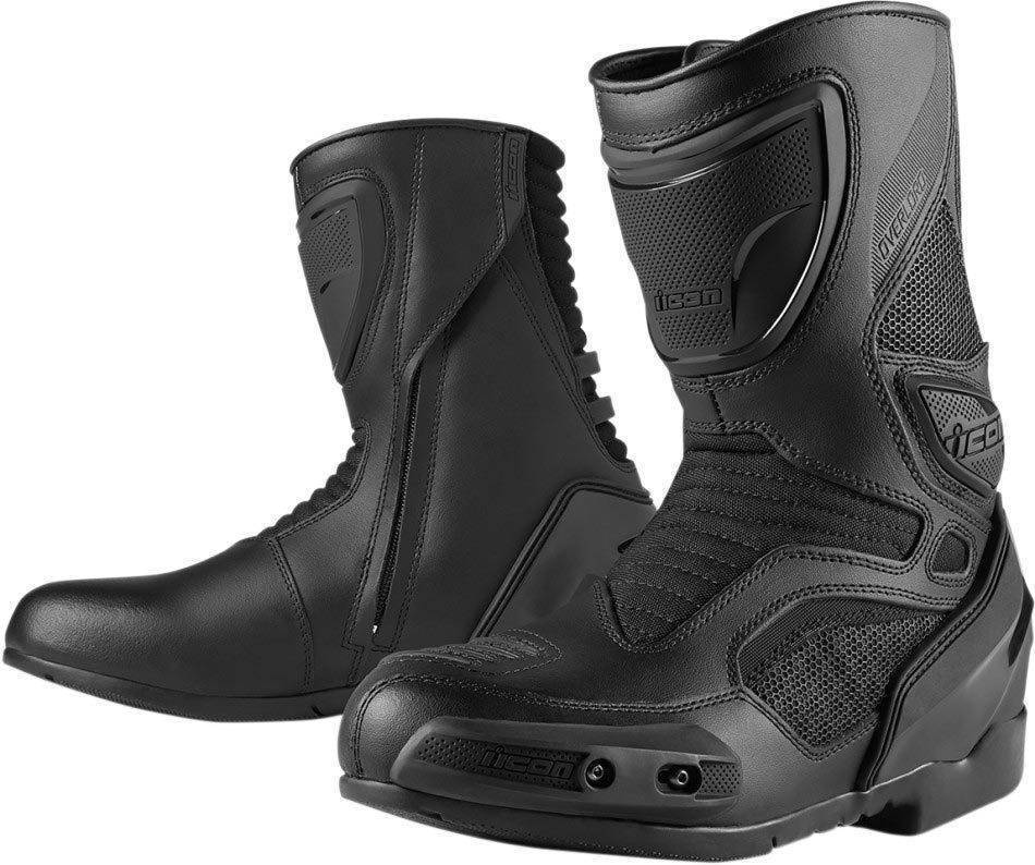 8b450c183256 Icon - Overlord boots motorcycle boot - Biker Outfit