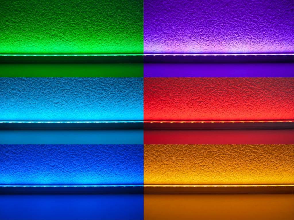Barra LED impermeable de 50 cm - RGBWW 5050 SMD 7.2W