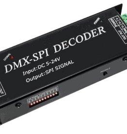 DMX a SPI Decoder (para tira LED digital)