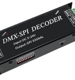 DMX naar SPI (Digitale LED Strip) Decoder