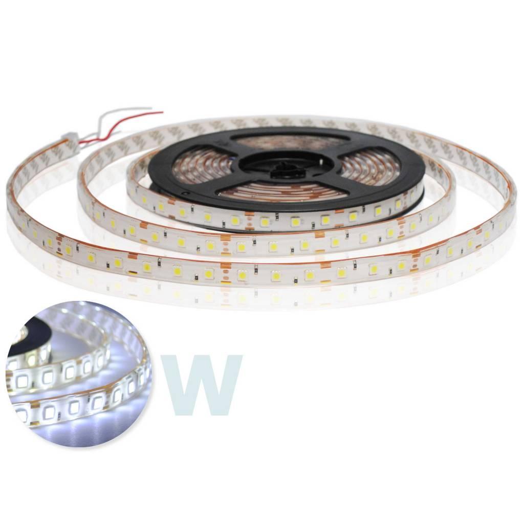 Tira LED Flexible Impermeable 5050 60 LED/m Blanco - por 50cm