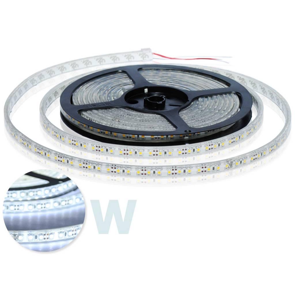 LED Strip Flexibel Wit 120 LED/m IP68 Waterdicht - per 50cm