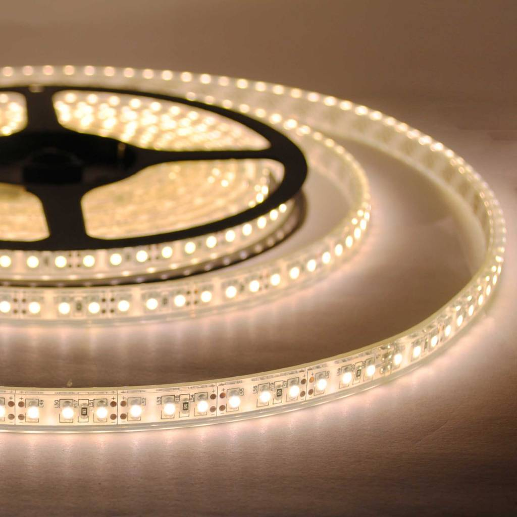 LED Streifen Wasserdicht 120 LED/m Warm Weiss - je 50cm