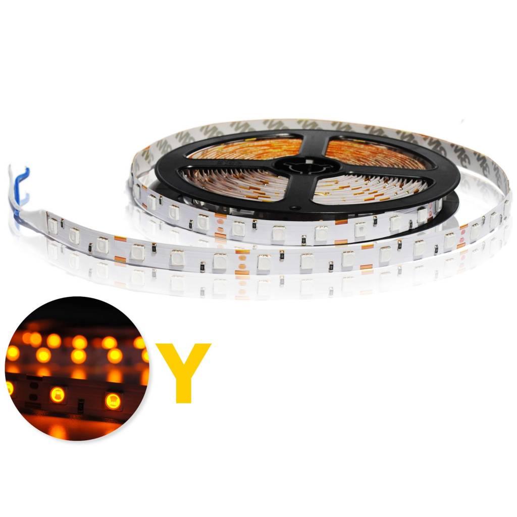 LED Strip 5050 60 LED/m Yellow - per 50cm