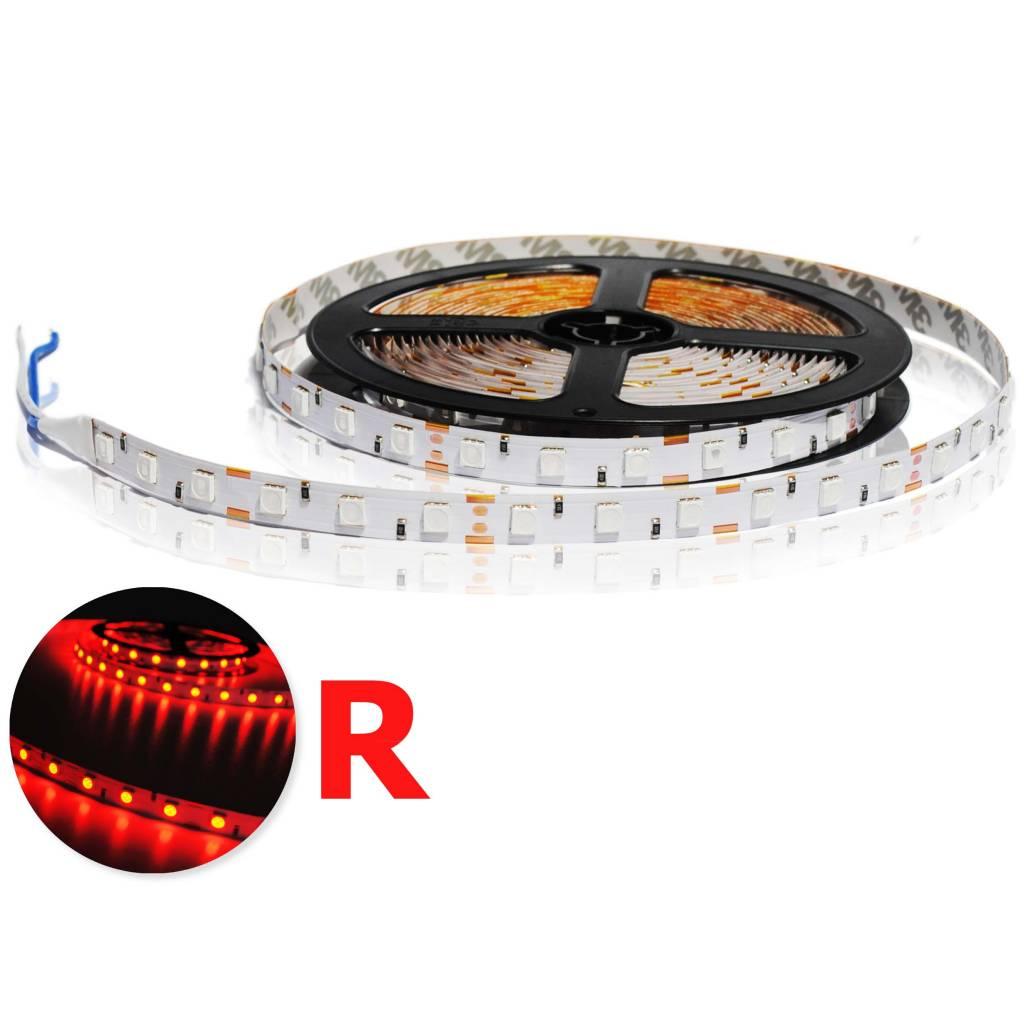 Striscia LED 5050 60 LED/m Rosso - per 50cm