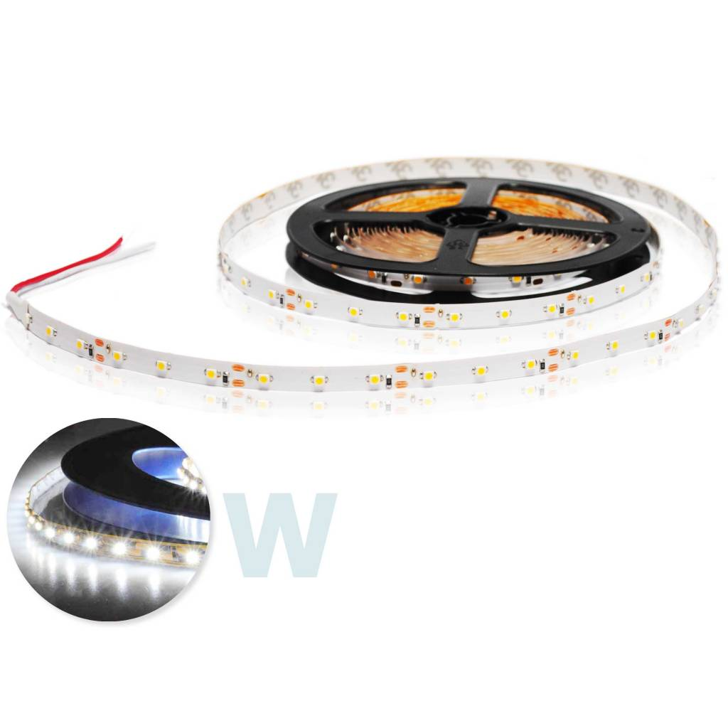 LED Strip Flexibel Wit per 50cm