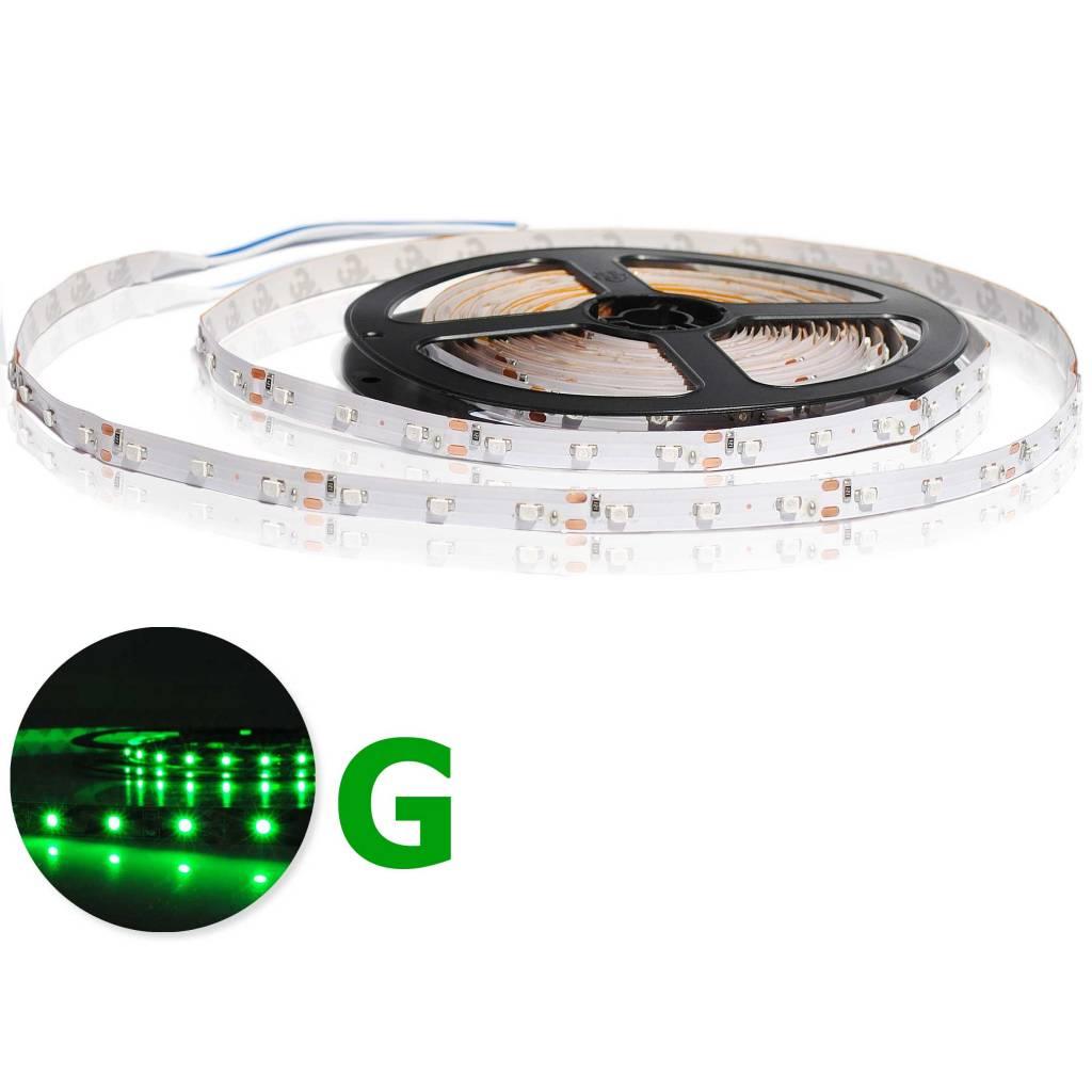 LED en bande auto-adhésive - Vert - par 50cm