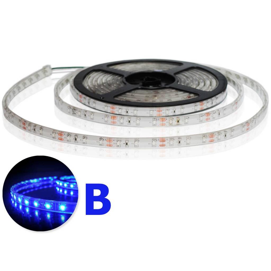LED Streifen Wasserdicht Blau - je 50cm
