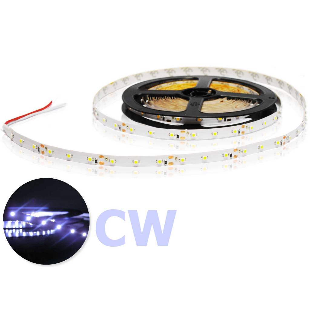 LED Strip Flexibel Koud Wit per 50cm