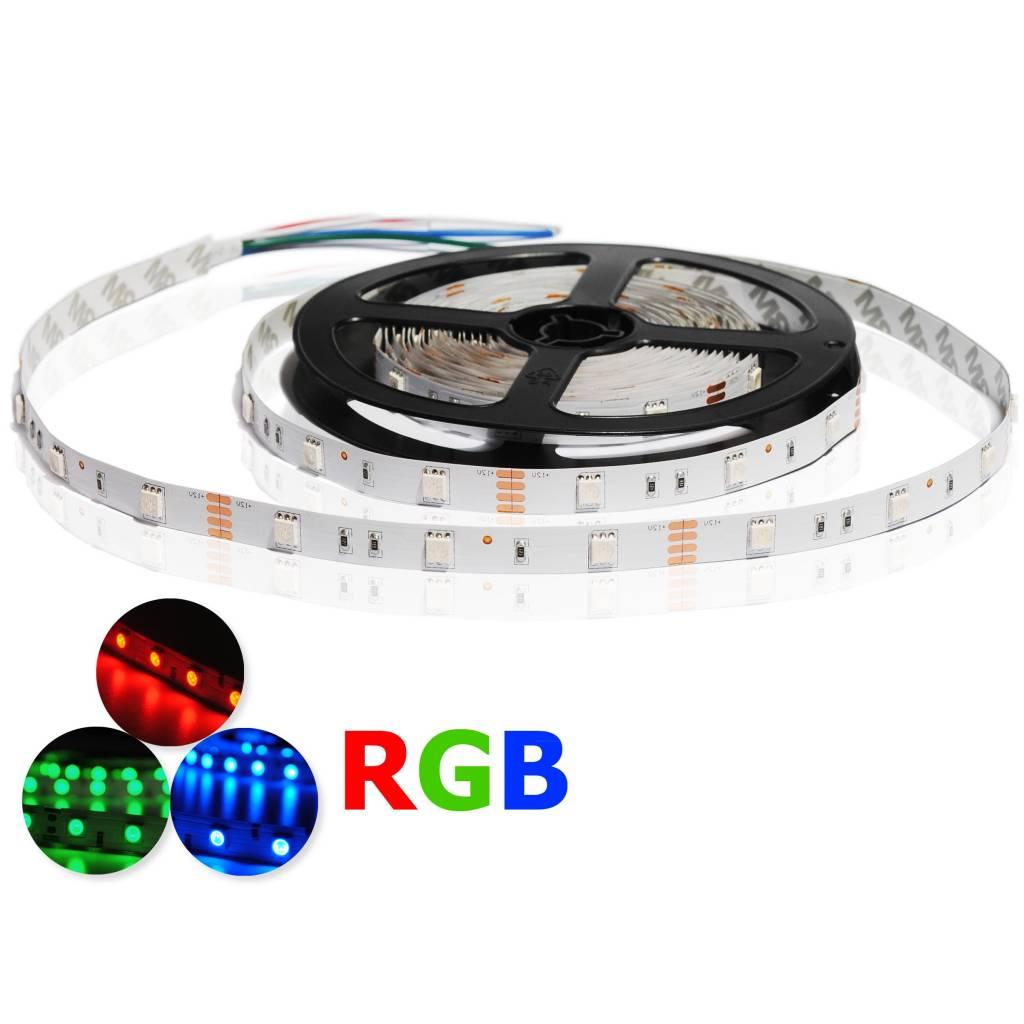 LED Streifen RGB - 30 LEDs/m - je 50cm