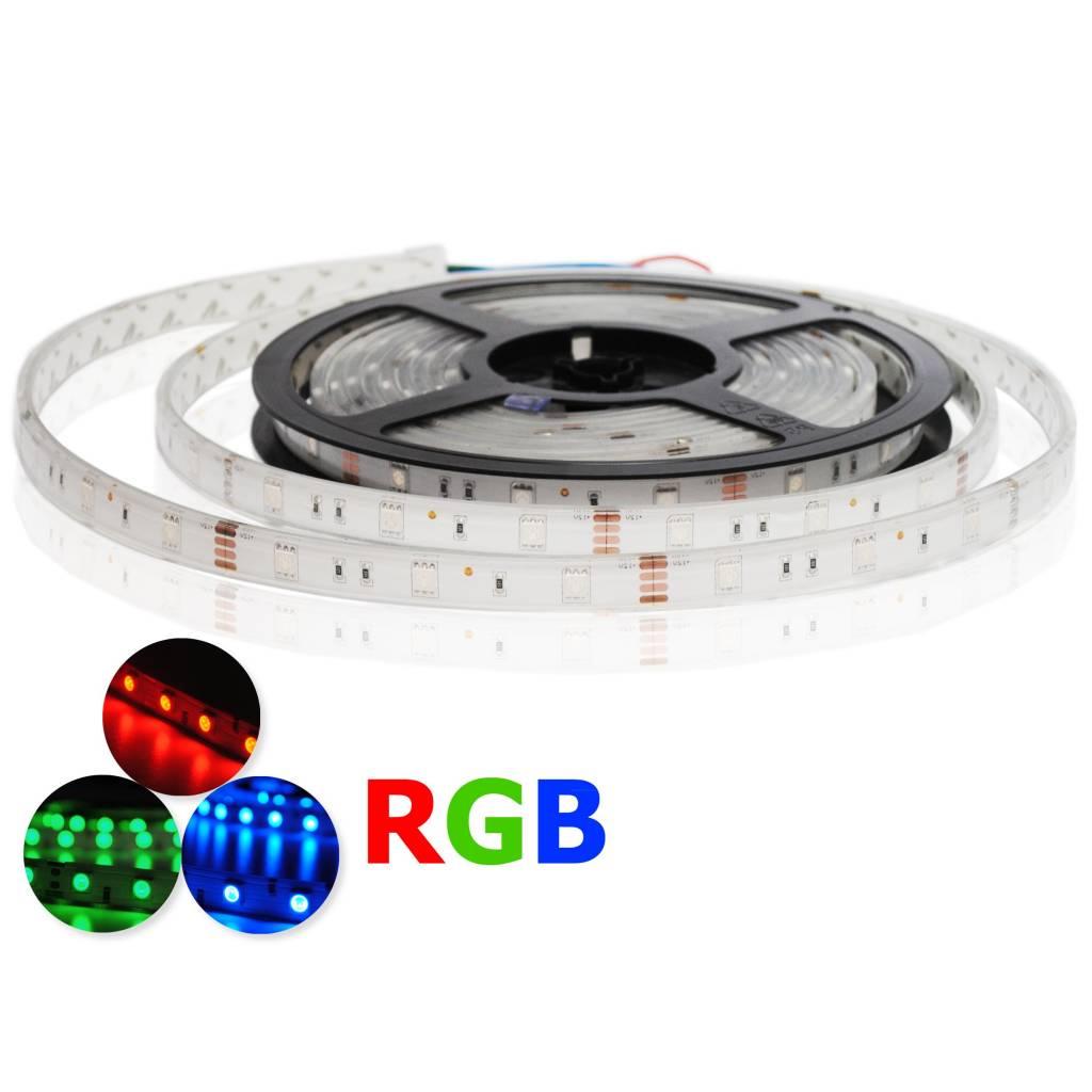 LED Strip RGB Waterproof - 30 LEDs/m - per 50cm