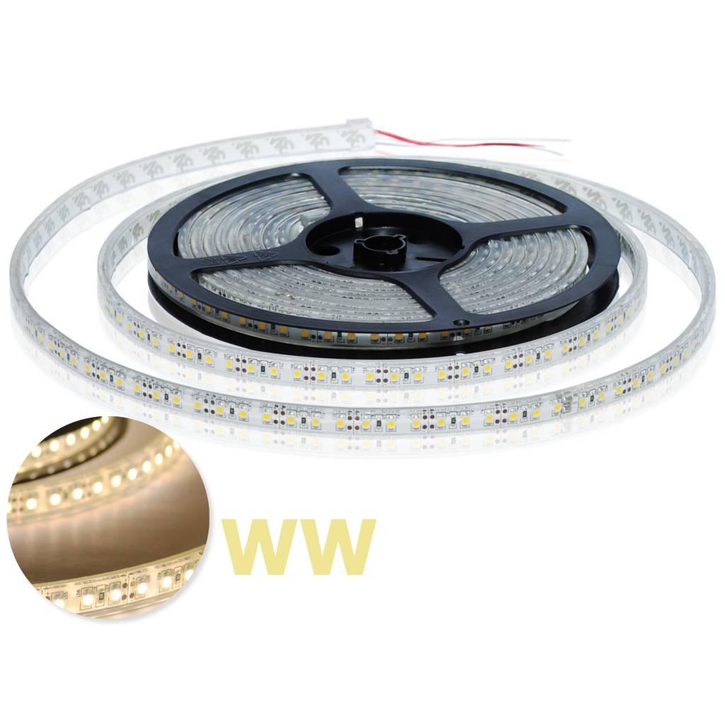 LED en bande Étanche 120 LED/m Blanc Chaud - par 50cm