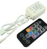 Mini Controllore per Strisce LED Digitale con telecomando IR