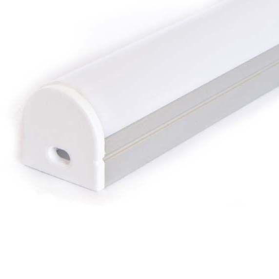 Profil en aluminium 1 mètre arrondie