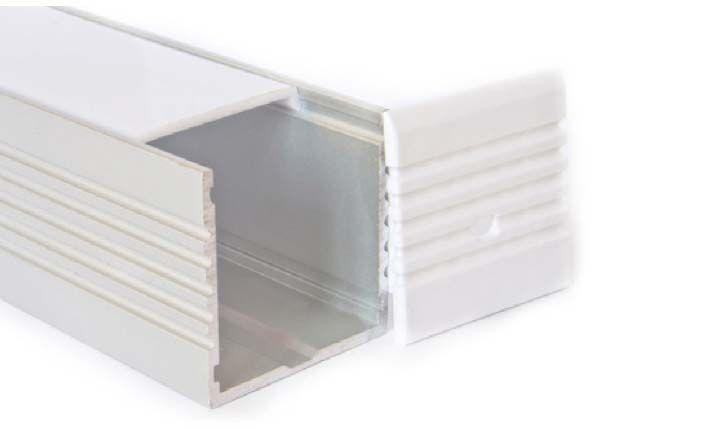 Perfil de aluminio XL 1 Metro