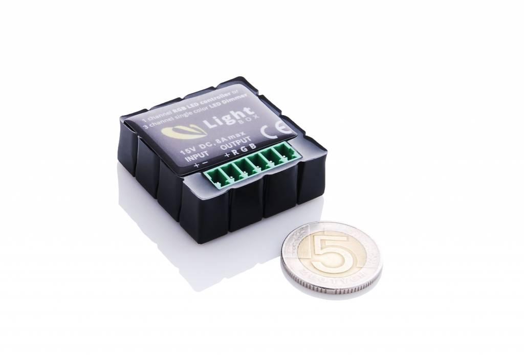 Controllore RGB Bluetooth Wireless - Collegamento Bluetooth Con Iphone e Smartphone Android
