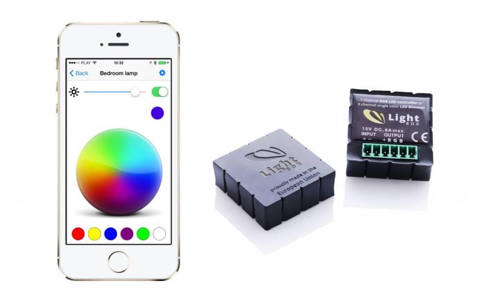 Contrôleur Bluetooth RGB - Controlez Bande de RVB LED avec votre smartphone