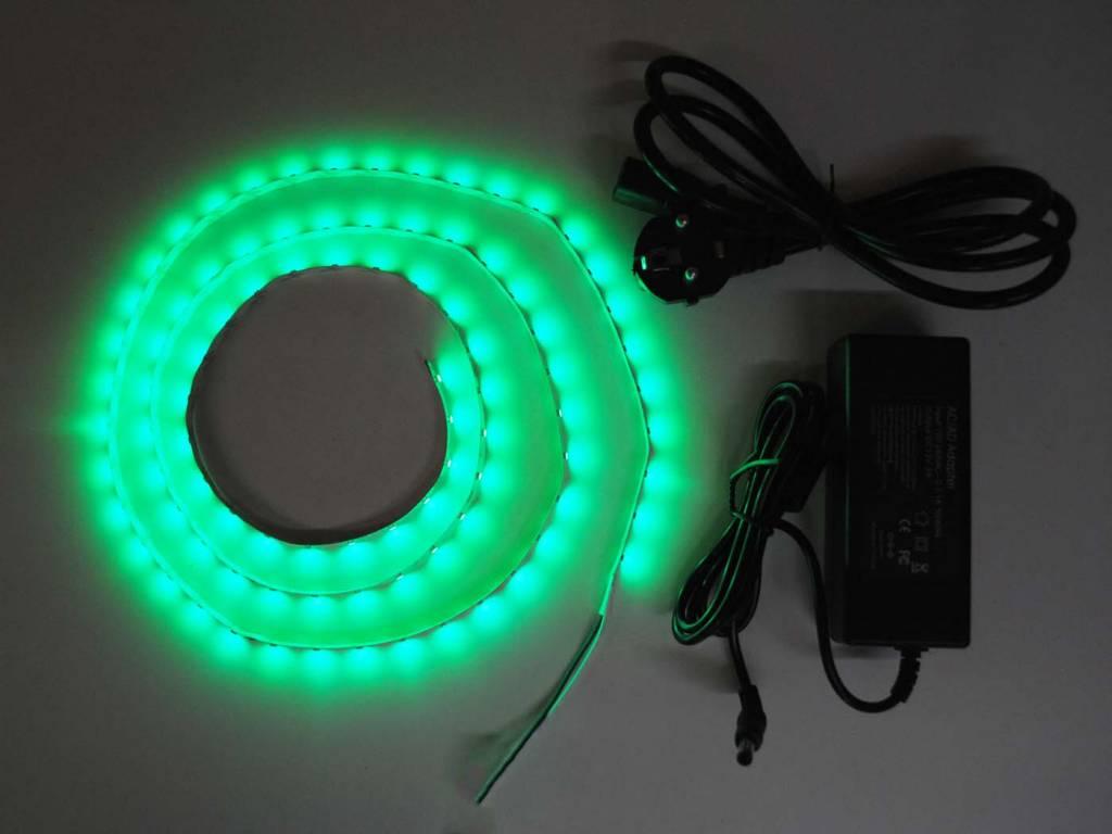 Bande LED Vert 60 LED / m Kit