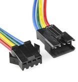Set connecteurs RGB 1 femelle et 1 mâle.